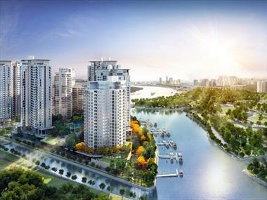 Bán căn hộ duplex ở Đảo Kim Cương thiết kế siêu sang, view siêu đẹp, 3PN