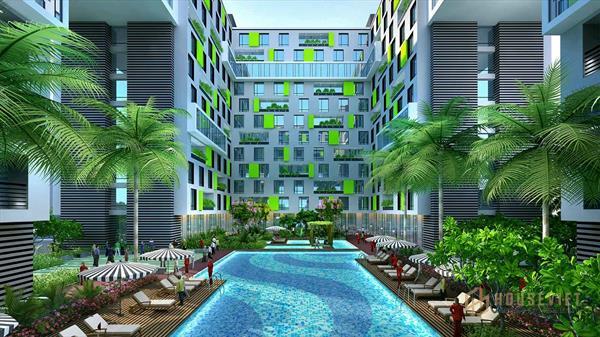Bán căn hộ full nội thất view sân bay Republic Holiday Inn giá 2,35 tỷ