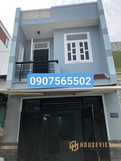 Nhà 1 Lầu Gía Rẻ 4x13 Mét Đ Thanh Niên Hóc Môn 420 Triệu Shr