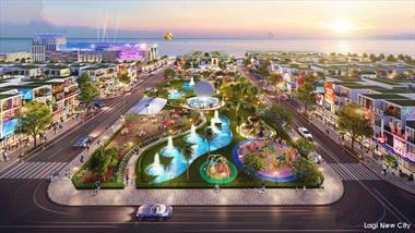 Lagi New City Bình Thuận. Đất nền 2 mặt tiền biển cực đẹp