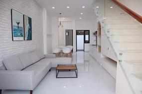 Cần tiền bán gấp căn nhà 1 lầu 1 trệt + 4 phòng trọ Mỹ Phước, Bến Cát, BD giá 1,2 tỷ/150m2