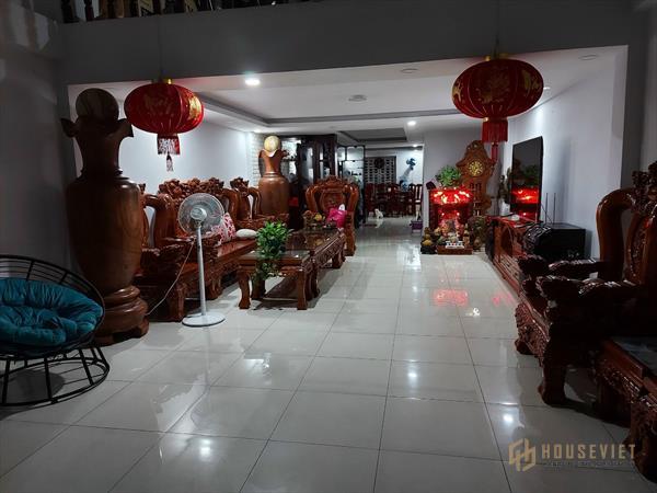 Nhà mặt tiền Nguyễn Đức Thuận, Hiệp Thành, Thủ Dầu Một, Bình Dương 1 trệt 2 lầu
