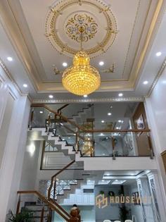 Nhà mới 100% tuyệt đẹp đường Phan Huy Ích - Quận Gò Vấp - TPHCM - 65m2 - 5 Tầng - 7TỶ xx