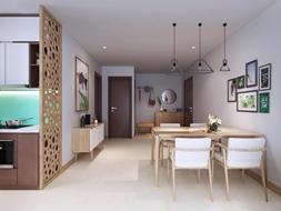 Bán gấp căn hộ mặt đường Giải Phóng, giá 1.7 tỷ, 70m2, 2 phòng ngủ, full nội thất, có hỗ
