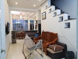 CẦN BÁN GẤP NHÀMặt tiền kinh doanh chợ Tân Hương - Nhà đẹp, sổ vuông, Ngang 4M - Cho