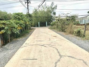 Bán nhanh lô đất vườn xã Nhuận Đức Củ Chi DT 990m2 giá 1ty150 SHR sang tên ngay