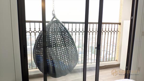 Bán căn hộ 1PN d'Elodorado Phú Thượng giá 1.8 full đồ, view Hồ Tây
