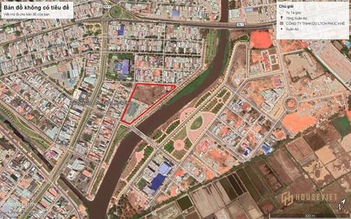 Lô đất 4 mặt tiền ngay Trung tâm TP Phan Thiết, chợ Đông Xuân An, thích hợp làm dự án