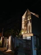Nhà mới xây 1 Trệt 1 Lầu ngay Phường Bình Chuần, gần chợ, tiện kinh doanh buôn bán.