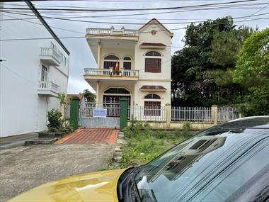 Bán Nhà mặt phố Hoàng quốc Việt khu 8 - Thanh Sơn