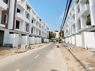 60 căn nhà phố 1 trệt 2 lầu sân thượng, 4mx20m. Mặt tiền đường Số 25,27,29 Q. Bình Tân, rộng 12-16m