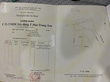 Cần bán gấp đất biệt thự đối diện công viên KDC Trung Sơn, DT 200m2 SH, giá 100tr/m2