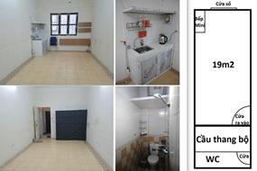 Cho thuê phòng riêng WC ở Bến xe Nước Ngầm, chỉ 3 triệu