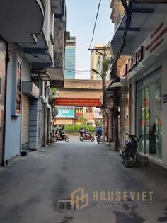 Bán đất mặt ngõ kinh doanh phố nguyễn xiển, hoàng mai, 62m2, giá 6.9 tỷ, đắc địa