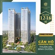 Bán căn hộ chung cư dự án Anderson Park Bình Dương, Diện tích 73 m², Giá 2,6 Tỷ