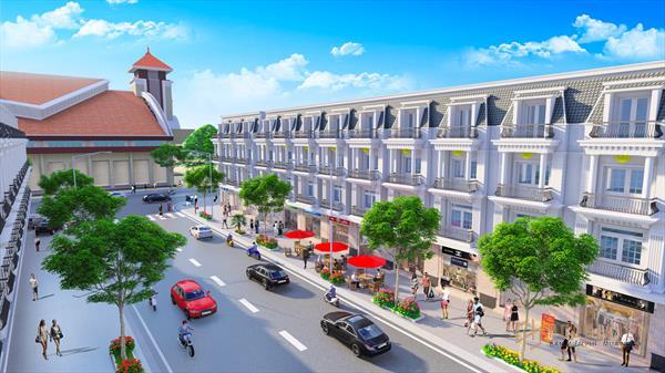 Công bố phân khu nhà phố thương mại mặt tiền chợ Bình Minh, chiều ngang lên tới 7.5m tuyệt đẹp