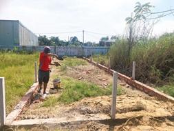 Muốn sang nhượng đất Vĩnh Lộc B Bình Chánh 60m2, 410TR