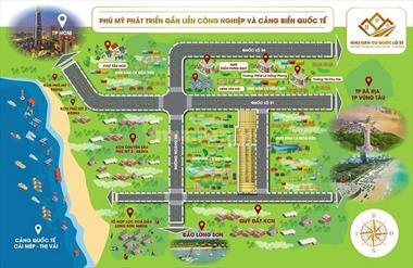 Đất nền sổ đỏ mặt tiền qlo 51 Bà Rịa Vũng Tàu giá siêu mềm từ 7,8tr/m2