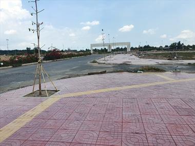 Bán lô đất thông phà Cát Lái, mặt tiền đường 25C, tại Nhơn Trạch, sát khu công nghiệp, 0979252390