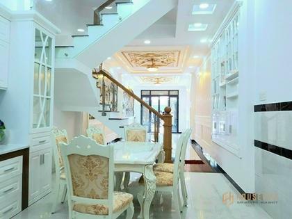 Bán nhà 703/22 Lê Trọng Tấn, Tân Phú, 4.3*14m, 4 lầu nhà mới ở liền 4.45Ty