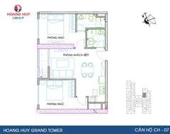 Sống chuẩn mực tại Hoàng Huy Grand Tower, sở hữu căn hộ cao cấp 4* chỉ từ 700tr