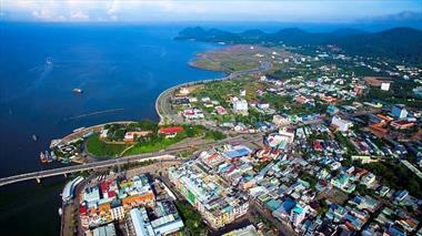 Bán đất mặt tiền đường 13 dự án khu lấn biển Hà Tiên, giá chỉ 1.7 tỷ