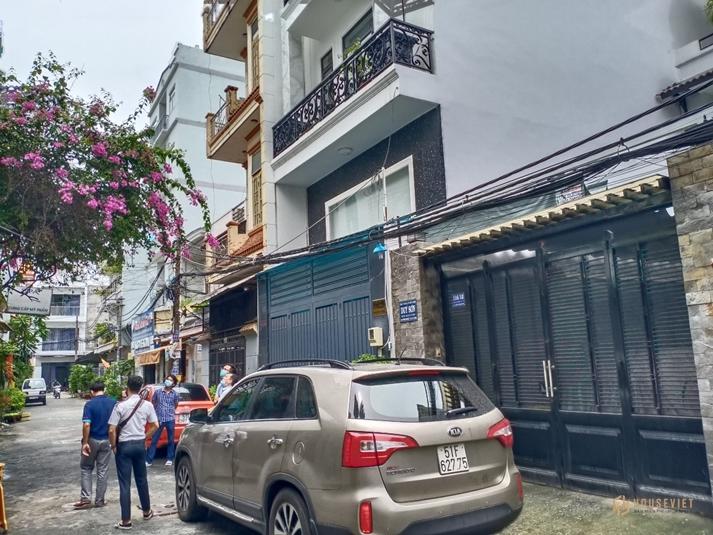 Bán nhà 140m2, 4 tầng, hẻm xe hơi đường Trần Thánh Tông, phường 15 Tân Bình, 12.5 tỷ