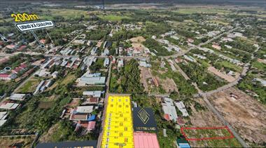 Bán đất mặt tiền đường nhựa, TT Châu Pha- TX Phú Mỹ - Bà Rịa-Vũng Tàu 12x60m giá 2.5 tỷ (3,5tr/m2)