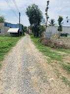 Đất thổ cư lô góc 2 mặt tiền đường ô tô, khu dân cư hiện hữu