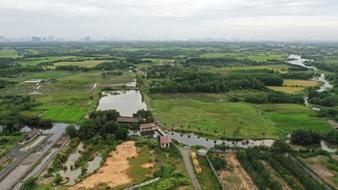 Đất lớn mặt tiền sông, đường oto, cách mặt lộ 70m, giá đầu tư f0