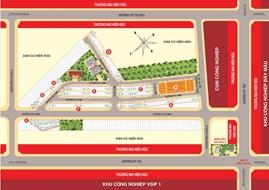 Đất nền Thuận An-Khu đô thị Casa Mall giá đầu tư giai đoạn F0