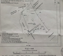 Cần Bán Gấp 3170m2 đất mặt đường 3/4 TP Cam Ranh - SĐCC - Giá 6triệu/m2