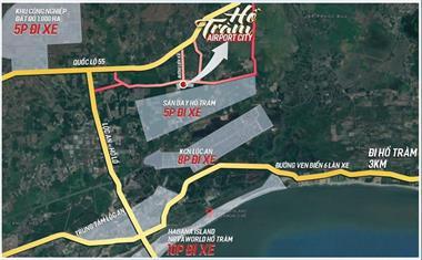 Đất nền sổ đỏ, thổ cư sát nách sân bay hồ tràm, chỉ từ 800 – 950tr/140m2. liên hệ 0971.137.222