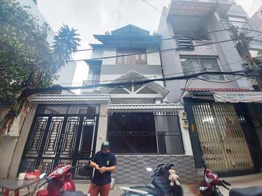MT góc Thái Thị Nhạn Tân Bình, 87m2,7x12.5, biệt thư siêu đẹp 4 tầng, chỉ 14.8 tỷ TL