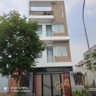 Sở hữu ngay 1 căn nhà mới, DT 102m2, 1 trệt 2 lầu, cách BHX Bình Chánh chỉ 5 phút đi xe