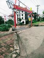 Bán nhanh 04 ô đồng súc thị trấn Phùng đối diện Quốc Lộ 32 dầu tư thanh khoản tốt đường