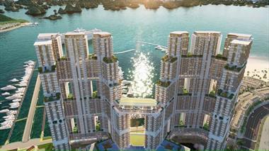 Chính chủ chuyển nhượng căn hộ Sun Marina Town Hạ Long T081202, T0712B02 view Vịnh du thuyền.