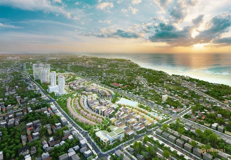 Bán biệt thự, nhà phố liền kề dự án Summerland Mũi Né. Giá gốc chủ đầu tư