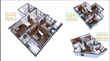 Bán căn hộ view hồ Vinhomes Green Bay - tháp đơn lập đẹp nhất hồ Mễ Trì - 0966607825