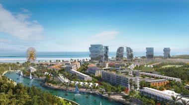 Nhà phố biệt thự giá rẻ ở ven biển hồ tràm bình châu 2 tỷ số hồng lâu dài