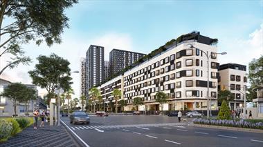 Bán shophouse Apec Diamond Park vị trí tại TP Lạng Sơn khu nhà ở TTTM và dịch vụ ngay trung tâm