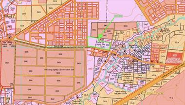 Bán đất thổ cư giá đầu tư mặt tiền đường ĐT 769 đối diện kcn Lộc An Bình Sơn