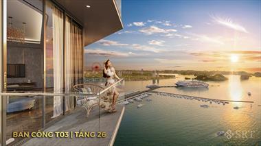 Chính chủ chuyển nhượng căn hộ Sun Marina Town Hạ Long T07 16 03, T10 31 05A view vịnh du thuyền
