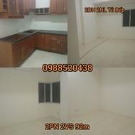 Cho thuê căn hộ 2PN ở 52 Lĩnh Nam, nội thất cơ bản giá 7 triệu