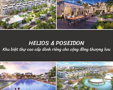 Cơ hội đầu tư chỉ với 200tr sở hữu ngay liền kề/shophouse DA Crown Villas - Thái Nguyên
