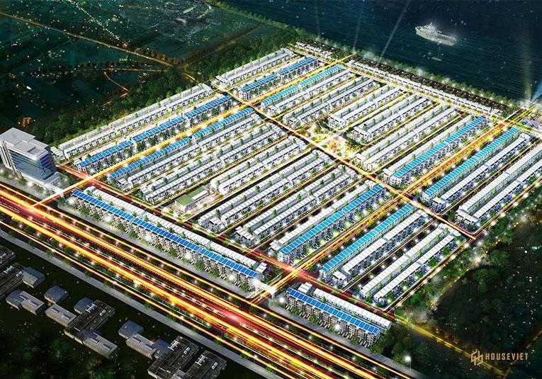 Thiết kế tổng thể dự án Fenix City Hậu Giang
