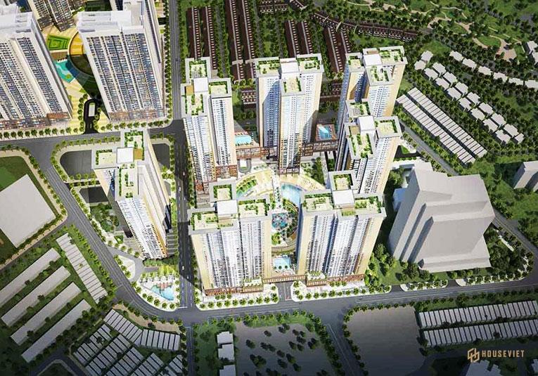 Mặt bằng dự án Opal Central Park Thuận An