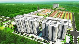 Khu dân cư Phong Phú Bình Chánh