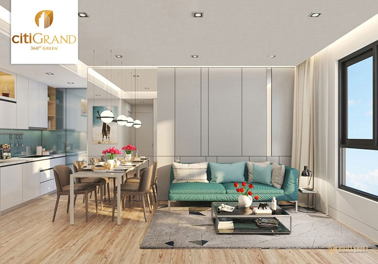 Thiết kế mẫu căn hộ Citi Grand Quận 2.