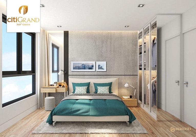 Thiết kế mẫu phòng ngủ Citi Grand